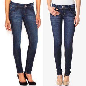 Hudson Collin Flap Skinny Jeans - Size 31